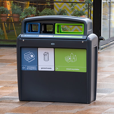 Nexus® Evolution City Recycling Bins