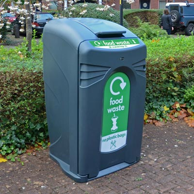 Nexus® City 240 Food Waste Recycling Bin