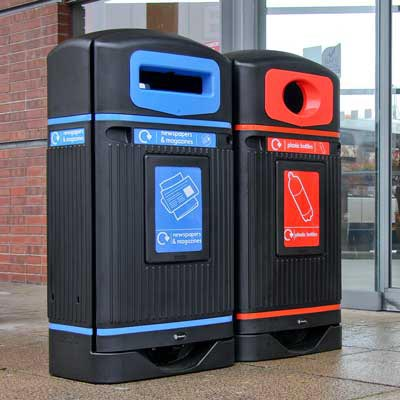 Streamline Jubilee™ Recycling Bins